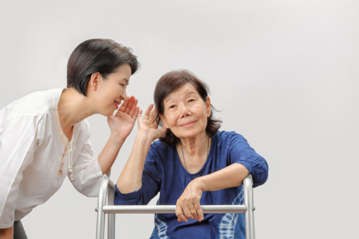 Caring for the Senior with Hearing Loss